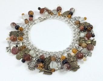 Owl Emporium Charm Bracelet
