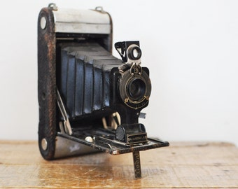 Antique Kodak Jr. Folding Camera No. 1 A Collectible Photography Decor Display