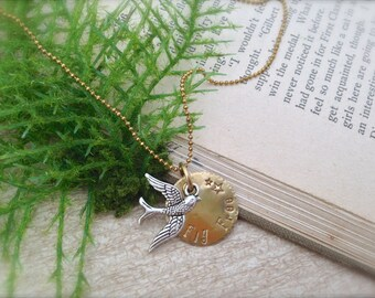 Bird Fly Free Necklace