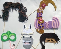 Choose Your Own Rapunzel Inspired Photo Booth Props A