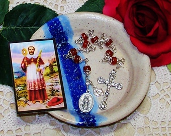 Unbreakable Catholic Chaplet of St. Raymond Nonnatus - Patron Saint of Expectant Mothers, Infants and OBGYN's
