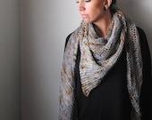 CLINQUANT Shawl Yarn & Pattern Kit - Merino/SIlk DK