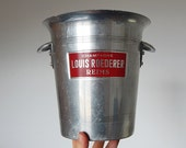 french champagne ice bucket seau vintage ice bucket
