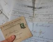 french antique letters 1880s handwritten letters letter lot paper ephemera