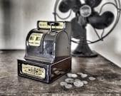 Uncle Sam's 3 Coin Register Bank Savings Mechanical Metal Cash