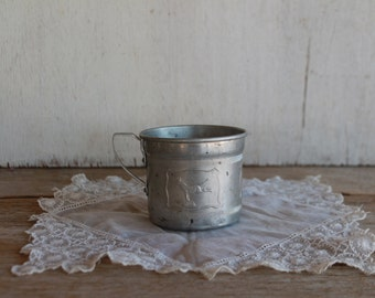 Vintage Aluminum Baby Cup