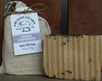 Goat Milk Soap - Fresh Lavender