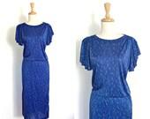 Vintage 40s Style Dress -...