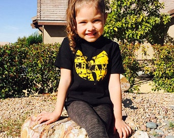 Wu-Tang Toddler printed on ultra soft ring spun cotton shirt