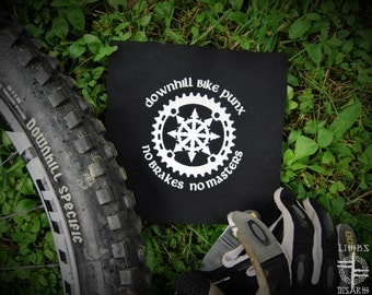 Downhill Bike Punx - No Brakes, No Masters ~ SMALL patch