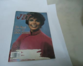 Vintage 1980 August 21 Jet Magazine With Lena Horne On Cover, Johnson Publications,  collectable
