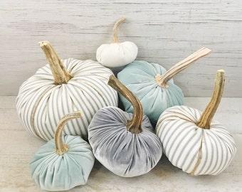 CUSTOM ORDER for DONNA-Ticking Pumpkins