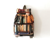 Old books ,library printed backpack,traveller, unisex,daily use,back to school,Valentines day