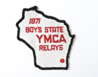 1971 YMCA Relays Wisconsin Patch