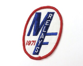 1971 Relays Patch