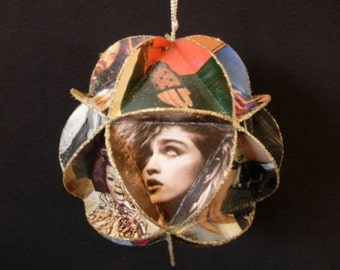 Girls Rock! Album Cover Ornament Made Of Record Jackets - Women In Music