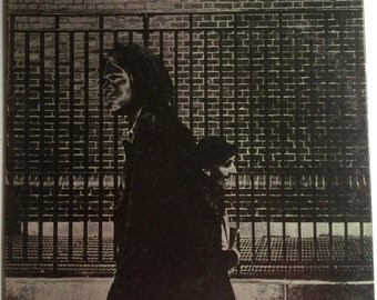 NEIL YOUNG After The Gold Rush Lp 1970 Original Vinyl Record Album With Lyric Poster