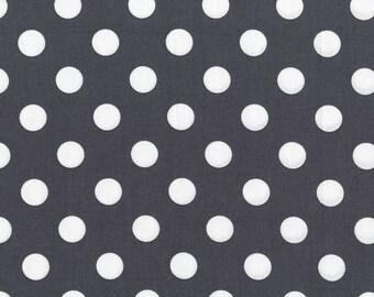 Gray Quarter Dot - Michael Miller Fabrics