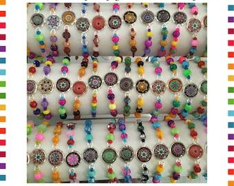 MANDALA nylon bracelet of your choice from the Kukera Collection