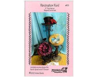 Annie's Keepsake Pattern Fascinator Fun Mini Top Hat