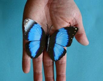 Butterfly On Hand Digital Print