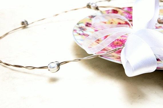 STEFANA Wedding Crowns- Orthodox Stefana - Bridal Crowns NEFELI - One Pair