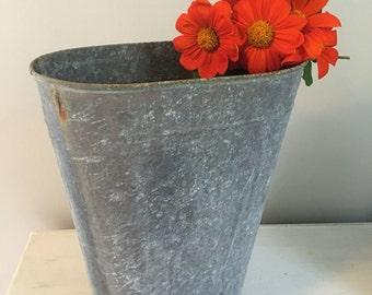 Vintage Galvanized Bucket