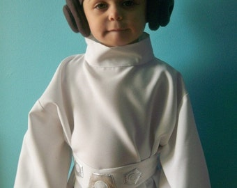 Star Wars--Princess Leia Costume 2T, 3T,4T,5T & 6 Ready To Ship