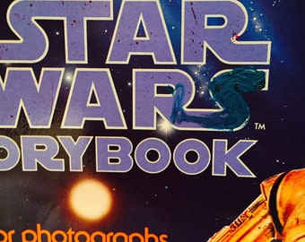 The Star Wars Story Book 1978  Scholastic Books  Soft Cover Collectible Full Color Photographs TV 4466
