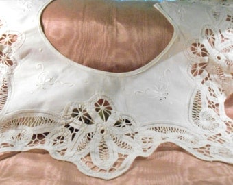 Vintage Lace Cotton Lace Collar Craft Supply