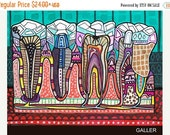 65% Off- Surreal tooth Art  Art Print Poster by Heather Galler Medical Illustration Anatomical Anatomy Chart Teeth Dental Dentist (HG858)
