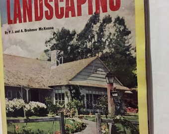 Landscaping Small Home magazine 1953 garden ideas planning your yard trees to look for many ideas 144 pages