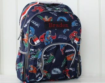 Small Justice League Backpack Pottery Barn (Small Size)