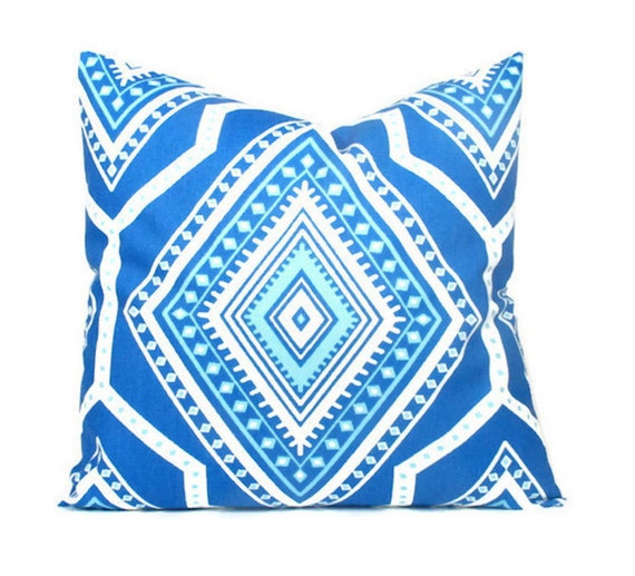 Throw Pillows Royal Blue : Items similar to Royal Blue Pillow Cover, 20