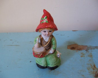 mwc collectable drummer boy bell figurine