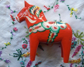 sweden wooden horse