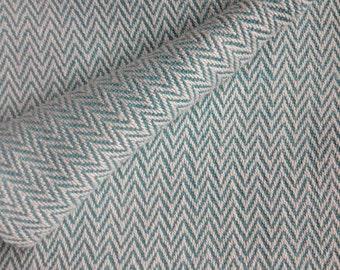 Aqua, Cotton Baby Blanket