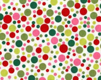 Michael Miller Santa Play Dot fabric - 1 yard