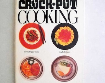 Vintage Crock Pot Cookbook Rival