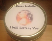 Queen Isabella Soy Wood Wick Candle: I Will Destroy You Royal Rebellion Candles