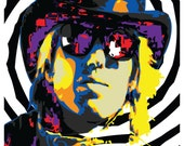 Wall Art Home Decor Tom Petty Pop Art Limited Print