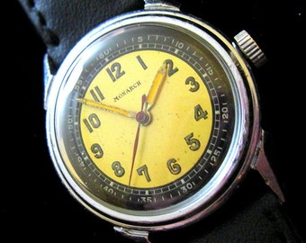 Monarch Swiss Watch - Mid Sized - c.1940's