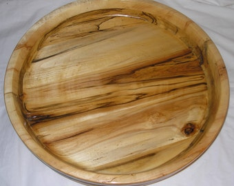Spalted Aspen Wood Bowl