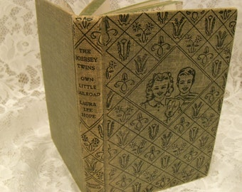 Vintage Book The Bobbsey Twins' Own Little Railroad
