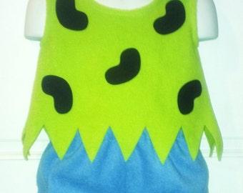 Flintstones Pebbles Cave Girl Halloween Costume Set Boutique 3T/4T PAGEANT