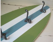 4 ft Surfboard Coatrack with Schoolhouse Hooks