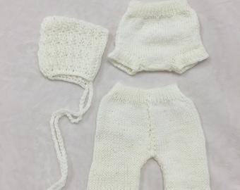 Baby 3-Piece Knit Set |CREAM RTS