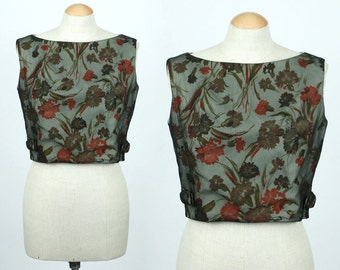 vintage 1950s top with