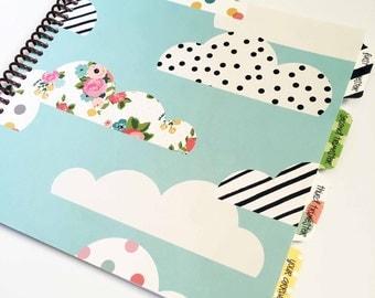 Pregnancy Journal * Gender Neutral Pregnancy Journal * Pregnancy Gift * SUNSHINE cover design