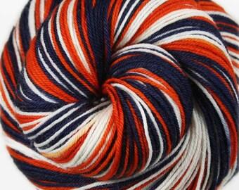 BRONCOS Superwash Merino/Nylon self-striping fingering/sock yarn